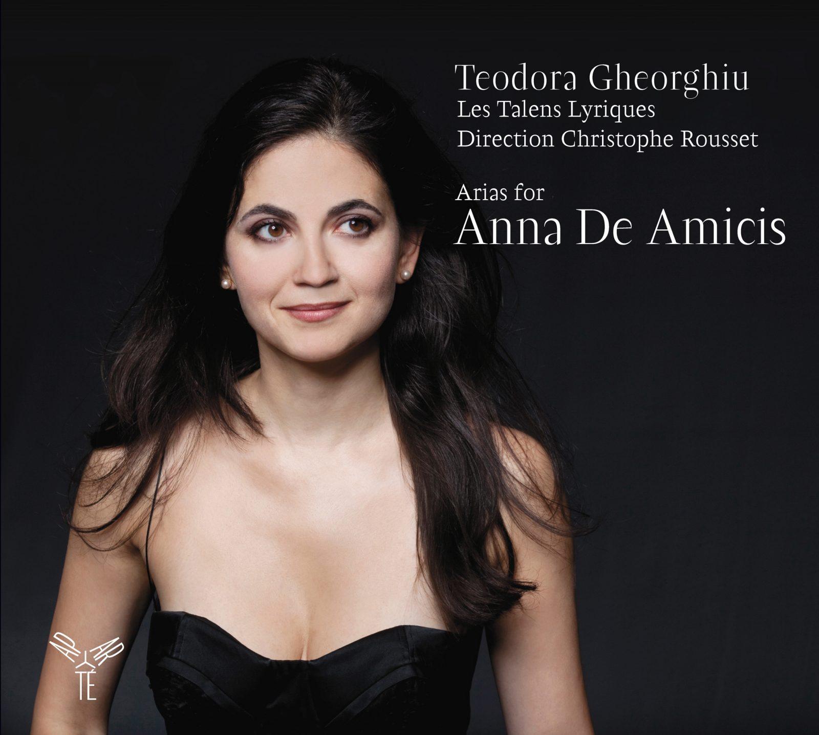 Arias for Anna de Amicis (Bach, Gluck, Mozart...)