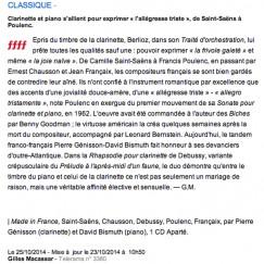 Génisson ffff Télérama