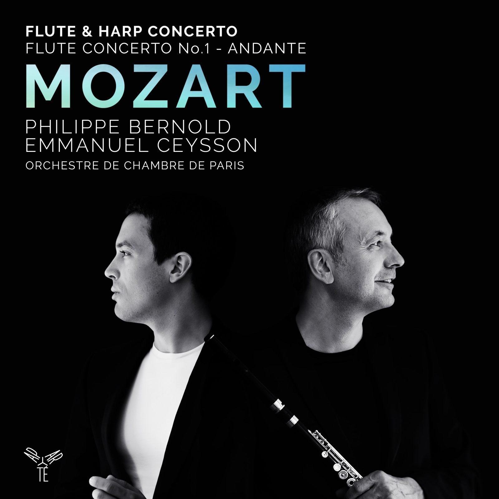 Mozart: Flute & Harp Concerto