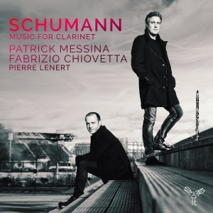 Pochette Schumann Music for Clarinet