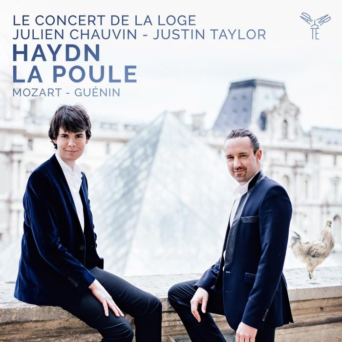 AP157 Le Concert de la Loge Haydn La Poule Justin Taylor Julien Chauvin