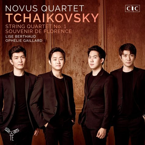 Cover Novus AP154 Tchaikovsky