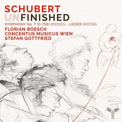 Cover Schubert Unfinished Stefan Gottfried Florian Boesch