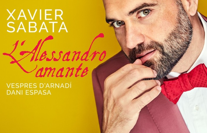Cover AP192 Xavier Sabata L'Alessandro amante