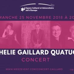 Ophelie gaillard quatuor